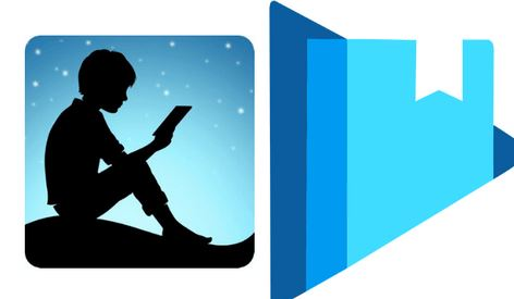 4. Amazon Kindle/Google Play Books/Nook