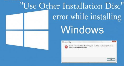 How to Fix: 'Use other Installation discs that say 64-bit' Error