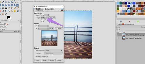 Utilizing the Built-In Flip Tool in GIMP
