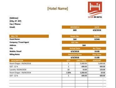 8. Rental Invoice Generator