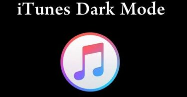 iTunes Dark Mode - How to Enable and Use it