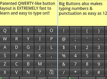 1. Huge Buttons Keyboard Standard