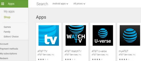 Steps to Install At&T TV application for Android TV (Sony, Mi Box, NVIDIA Shield TV)