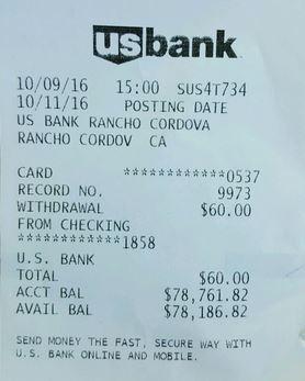 4. Fake ATM Receipt Generator