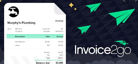 8. Invoice 2go – Professional Business Invoice Maker