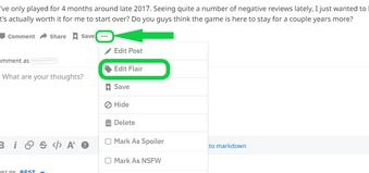 1. Client or User Flair